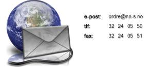 Kontaktinformasjon NN-S